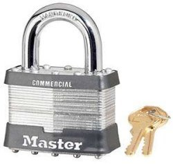 Master Lock Master ''Super Security'' Padlock - 2-1/2'' Keyed Differently-Boxed