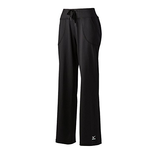 Mizuno Elite 9 Straight Long Pants, Black, Large ()