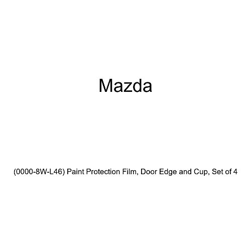 Genuine Mazda (0000-8W-L46) Paint Protection Film, Door Edge and Cup, Set of 4