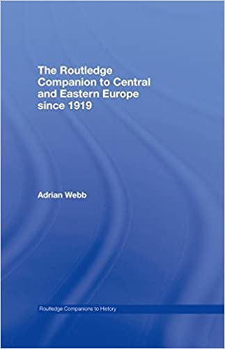 Book The Routledge Companion to Central and Eastern Europe since 1919 Routledge Companions to History