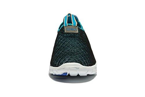 Osu Breathable Mesh Schuhe, Laufen, Outdoor, Sportlich, Slip-on Blau