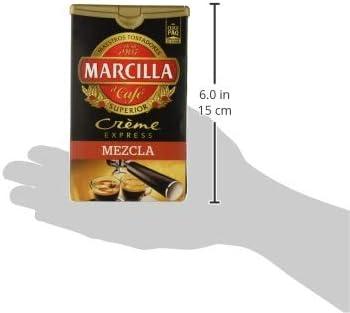 Marcilla Molido CRÈME EXPRESS MEZCLA - [Pack de 6]: Amazon.es ...