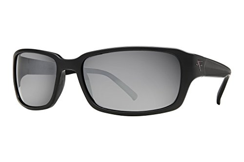 Fatheadz Eyewear Men's Jaxon V2.0 FH-V124-1SM Polarized Rectangular Sunglasses, Black, 67 - Fatheadz Amazon Sunglasses