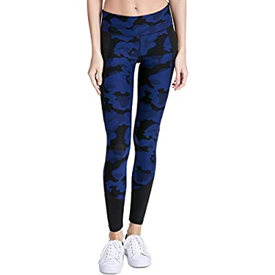 Calvin Klein Performance Womens Printed Compression Athletic Leggings