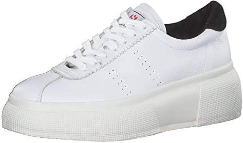 SUPERGA Donna Sneaker Club 5 Bianco/Nero Mod. 39