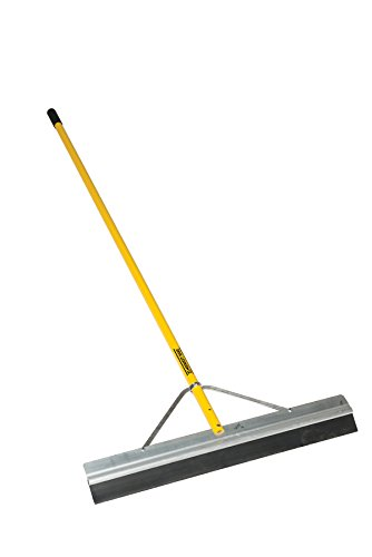 Midwest Rake S550 Professional Series Seal Coat Squeegee with Powder-Coated Aluminum Cushion Grip Handle (Various Sizes and Styles) - Cushion Grip Assortment