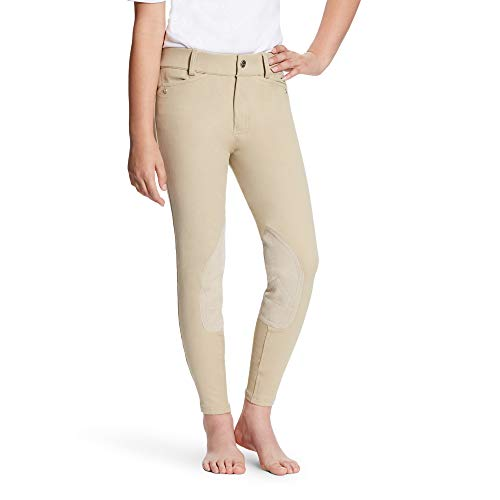 Ariat Breeches (ARIAT Kid's Heritage Knee Patch Breech Tan Size 16)