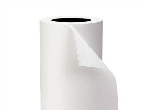 Premium White Tissue Roll 20''x5200 90% Recycled (Unit Pack - 1) by Better crafts