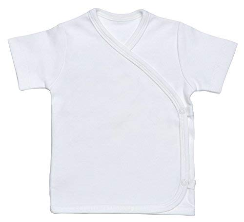 Under the Nile Side-Snap T-Shirt (Off White, Newborn)