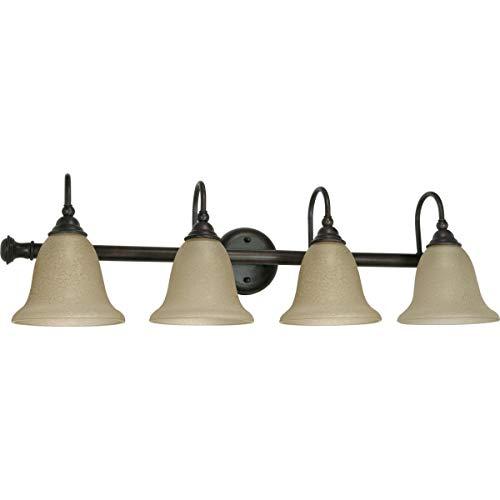 Nuvo Lighting 60/110 Four Light Fixture Vanity, Old Bronze ()