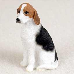 American Foxhound Miniature Dog Figurine