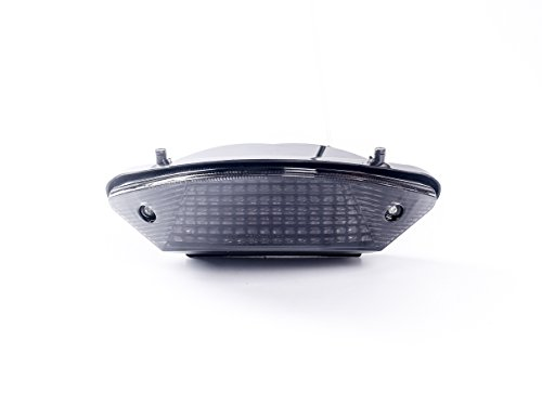 Motorcycle LED TAIL LIGHT FOR HONDA with integrated turn signals.