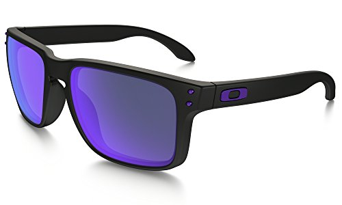 Oakley Holbrook Sunglasses Julian Wilson - MAT BLK/Vlt Irid. & Care Kit - Vlt Sunglasses