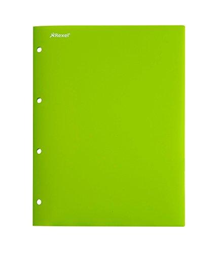 Green Pochette - Rexel Advance 2103979 Presentation Binder 236 mm x 315 mm 4 pochettes green