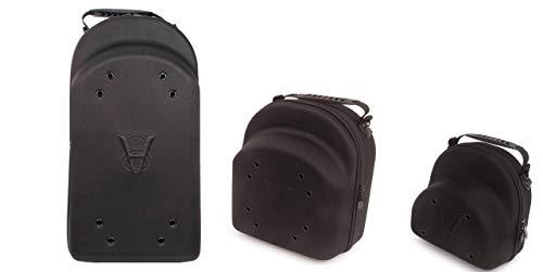 HG 3 pcs Hat Carrier Case Portable Case Storage for Caps with New Era Belt