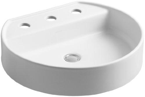 KOHLER K-2331-8-HW1 Chord Wading Pool Bathroom Sink with 8