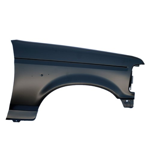 CarPartsDepot, Passenger Right Side Front Fender Primered Black RH, 371-18240-02 FO1241136 F2TZ16005A