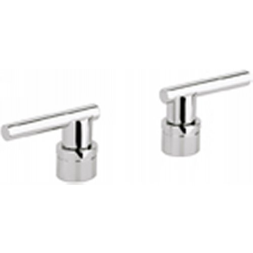 Atrio Lever Handles for Kitchen / Bar and Lavatories (Set of 2) Finish: Chrome