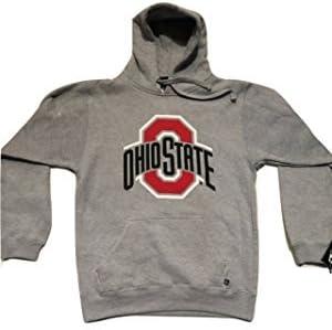 9039b80dfab Amazon.com   Ohio State Buckeyes Athletic Logo Gray Hoodie (Sizes 3X ...