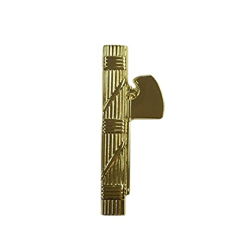 Roman Fasces Gold Lapel Pin, SPQR Standard Caesar of Rome, Italian Fascist Pins/Brooch -