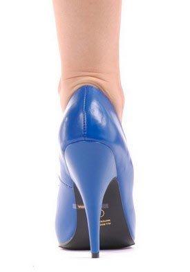 Rood Patent 5 Inch Klassieke Pomp Volwassen Blauw