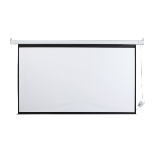 """Refurbished Assembly (Homegear 100"""" HD Motorized 16:9 Projector Screen W/ Remote Control (Certified Refurbished))"""