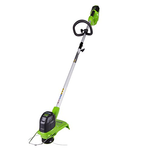 (Greenworks 12-Inch 40V Cordless String Trimmer, Battery Not Included BST4000)