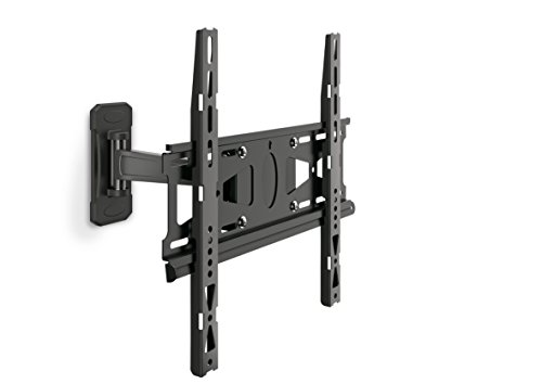 MOUNT MASSIVE TV Wall Mount, MNT 204 120° Swivel and Tilt Mount for 32 to 55 inch TVs, Black
