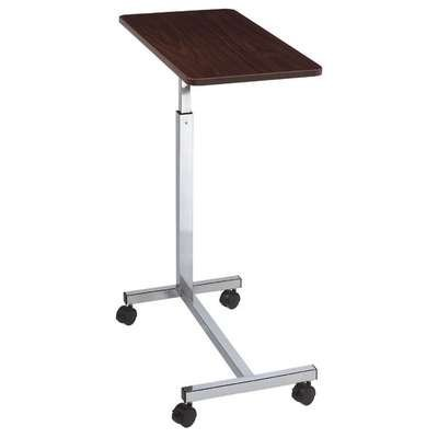 Cardinal Health C11610 ''H''-base Overbed Table, Walnut