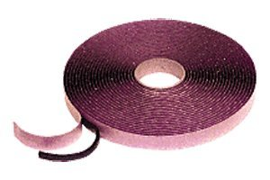 CRL 1/4'' x 3/8'' Autoglass Butyl Tape - 12 Rolls by 3M