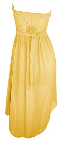 citydress24 - Vestido - corte imperio - para mujer amarillo