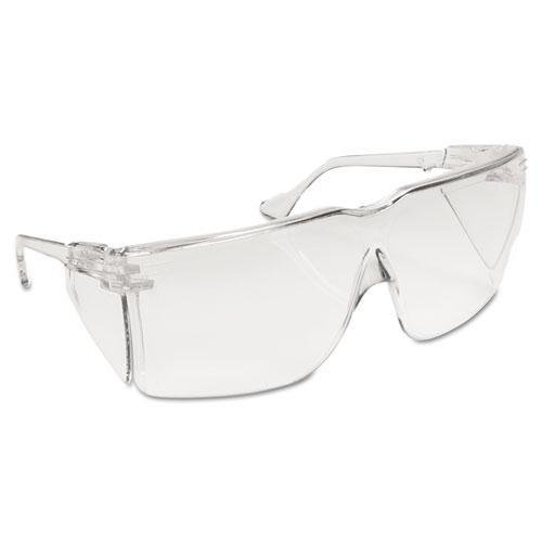 3M 411200000010 Tour-Guard III Protective Eyewear, Clear Polycarbonate Frame/Lens, (Clear Polycarbonate Frame)