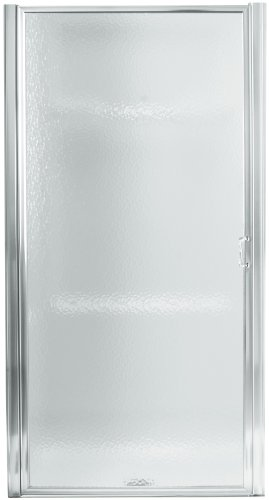 Silver Pivot Shower Door - STERLING, a KOHLER Company 950C-24S Standard Pivot Shower Door, 23-1/2-IN TO 25-IN, Silver