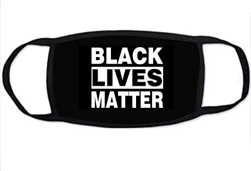 Black Lives Matter Face Mask, BLM Mask or Face Shield, Adjustable Reusable Face Mask; for Men Women and Children; Pack of 1