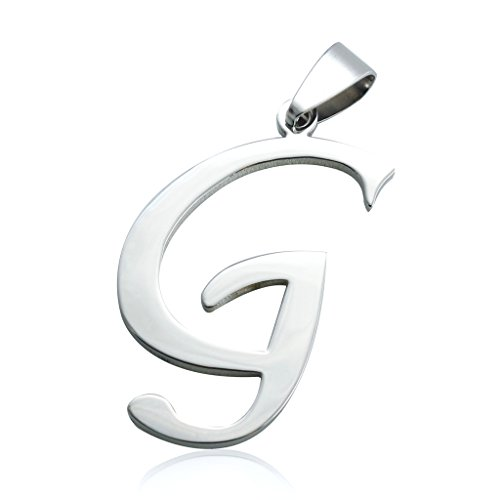 Jstyle Jewelry Stainless Initial Necklace