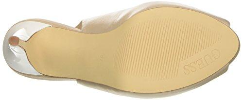 Keilabsatz mit Schuhe Fuxia Guess Lea05 Bianco Damen ITwxqWcZ7a