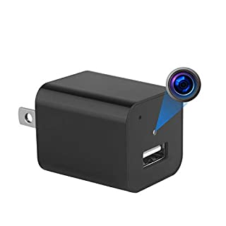 USB Camera Charger 128G 1080P Motion Detection Camera Nanny Cam Pet Baby Camera USB Wall Charger 1A Home Security Camera Video Recorder