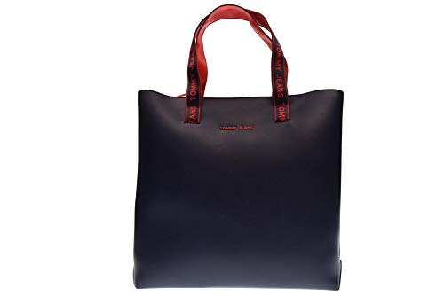 Tommy Jeans Blu Tote Bolso Marino rrqAfx