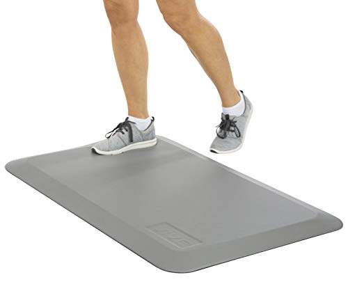 Vive Anti Fatigue Standing Mat - Foot Support For Desk, Office & Home Kitchen Workstation - Ergonomic Comfort Thick Waterproof Pad - Non Slip Bottom, Bevelled Edge - Cushion 24