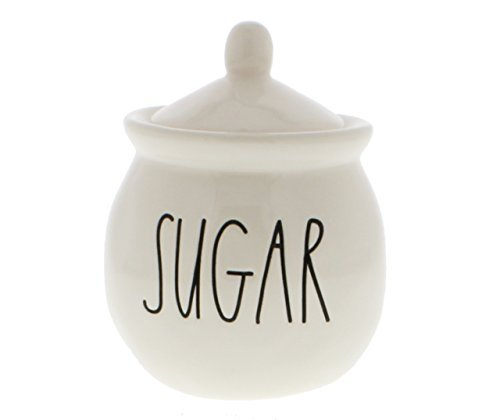 Rae Dunn by Magenta SUGAR bowl with lid. Large Letters. ()