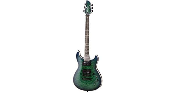 Fernandes guitarra eléctrica Dragonfly Elite (See Thru Green ...