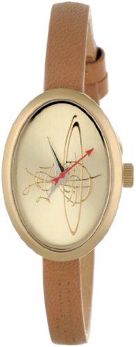 Vivienne Westwood Women's VV056GDBRNC Medallion Tan Watch