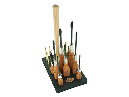 Grace USA 17-Piece Gun Care Tool Set with Bench Block by Grace