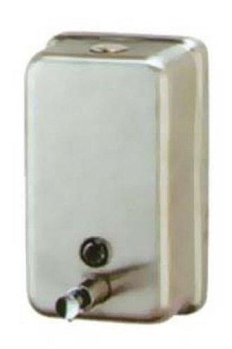 - Continental V444SS Stainless Steel Vertical Rectangular Soap Dispenser