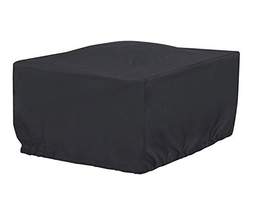 (Cookingstar 36-Inch Black Square Patio Fire Pit Table Cover)