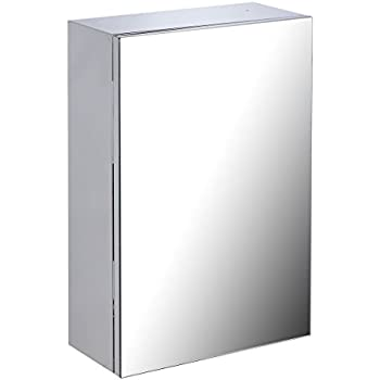 Amazon Com Stainless Steel Medicine Cabinet Mirror Wall