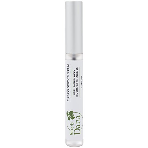 Simply Dana Peptide Lash Eyelash Growth Serum - Help Lengthen, Widen and Strengthen Eyelashes 0.16 fl oz (5ml)