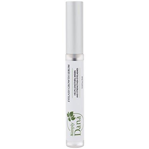 Simply Dana Peptide Lash Eyelash Growth Serum - Help Lengthen, Widen and Strengthen Eyelashes 0.16 fl oz (5ml)