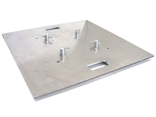 Global Truss Base Plate 30x30A, Aluminum with Handles by Global Truss