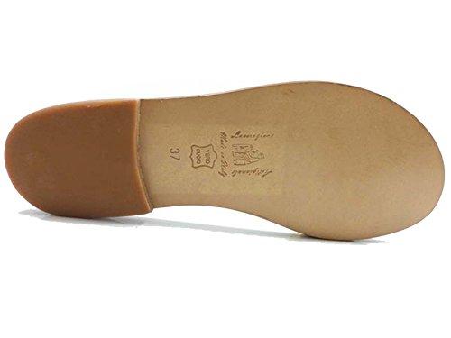 Zapatos Mujer EDDY DANIELE 37 Sandalias Amarillo Textil AW452